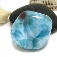 Ларимар галтованный HL105 11745 Larimar-Stone