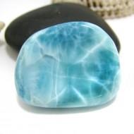 Ларимар галтованный HL107 11747 Larimar-Stone