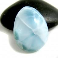 Larimar Drop Cabochon TC41 11642 Larimar-Stone 32,90 €