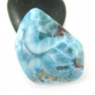Ларимар без формы кабошон FC307 11751 Larimar-Stone