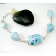 Yamir Luxury Bracelet Ovale LC41 11810 Larimar-Stone 169,00 €