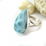 Larimar-Stone Larimar Ring Tropfen YF21 11787 49,90 €