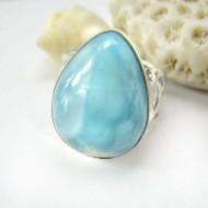 Larimar-Stone Larimar Ring Drop Unisex YL7 11789 89,00 €