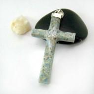 Larimar-Stone Größer Kreuz Anhänger AK1 11794 69,00 €