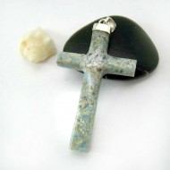 Ларимар ювелирные изделия распятие AK1 11794 Larimar-Stone