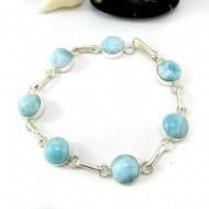 Yamir Luxury Bracelet 7 rond LC43 11813 Larimar-Stone 79,00 €