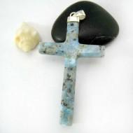 Ларимар ювелирные изделия распятие AK2 11795 Larimar-Stone
