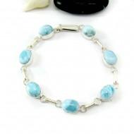 Larimar-Stone Larimar Armband 7 Ovale Steine LC46 11816 69,90 €