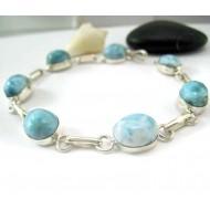 Larimar-Stone Larimar Bracelet 7 Stones LC48 11818 69,90 €