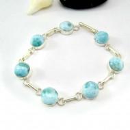 Yamir Luxury Bracelet 7 rond LC49 11819 Larimar-Stone 79,00 €