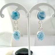 Larimar-Stone Larimar Earrings Drop Round TO7 11820 54,99 €