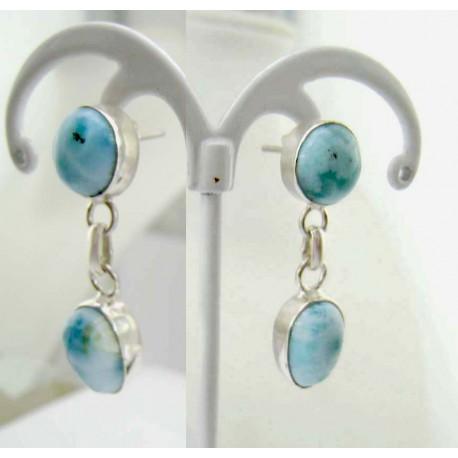 Boucles d'oreilles Larimar drop rond TO9 11822 Larimar-Stone 54,99 €