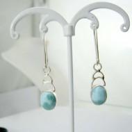 Boucles d'oreilles Larimar ovale YO46 11826 Larimar-Stone 39,00 €