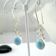 Boucles d'oreilles Larimar ovale YO48 11828 Larimar-Stone 39,00 €