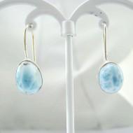 Larimar-Stone Larimar Earrings Oval YO49 11829 29,00 €