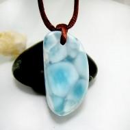 Larimar-Stone Larimar Stein mit Bohrung und Band SB324 11843 69,90 €