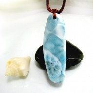 Larimar-Stone Larimar Stein mit Bohrung und Band SB340 11862 79,90 €