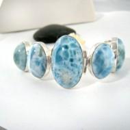 Yamir Luxury Brazalete Oval 9206 Larimar-Stone 259,00 €