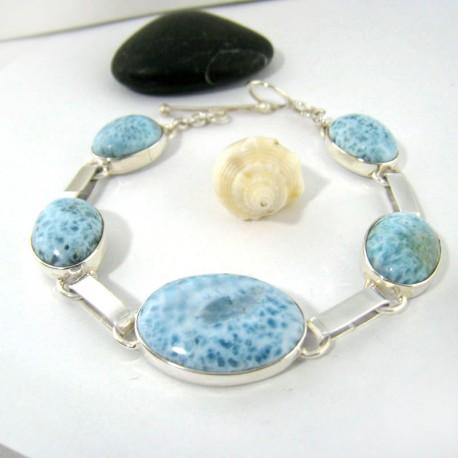 Yamir Luxury Bracelet Ovale 9205 Larimar-Stone 159,00 €