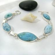 Yamir Luxury Bracelet Ovale 9212 Larimar-Stone 149,00 €
