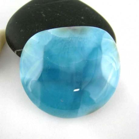 Larimar-Stone Freeform Cabochon 9287 59,90 €