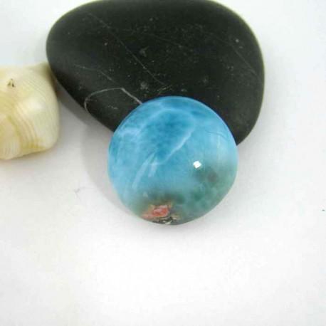 Larimar-Stone Larimar Rund Cabochon 9311 19,90 €