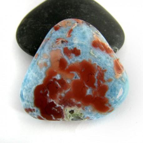 Larimar-Stone Larimar Triangle Cabochon 8866 59,90 €