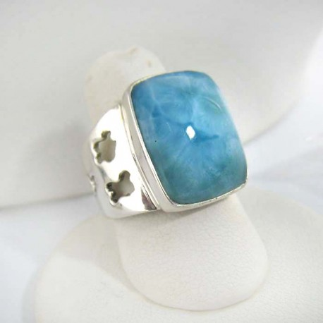 Larimar-Stone Yamir Luxury Ring Square 9266 109,00 €