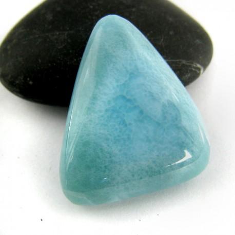 Ларимар Треугольник кабошон 8868 Larimar-Stone