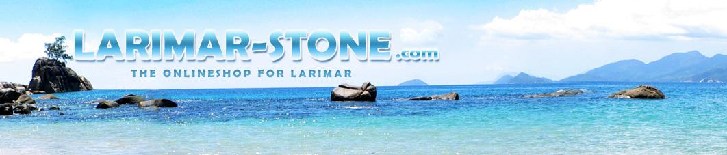 Larimar Stone Head